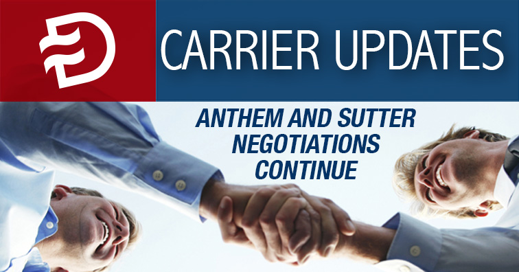 Q2 Updates from Anthem, Blue Shield and Oscar - Dickerson ...